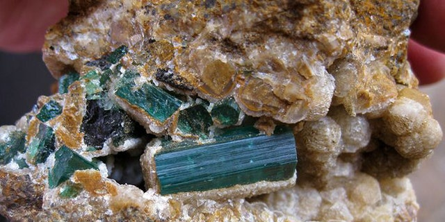 The war-torn nation sits on an estimated $1 trillion worth of gems and minerals. (Reuters)