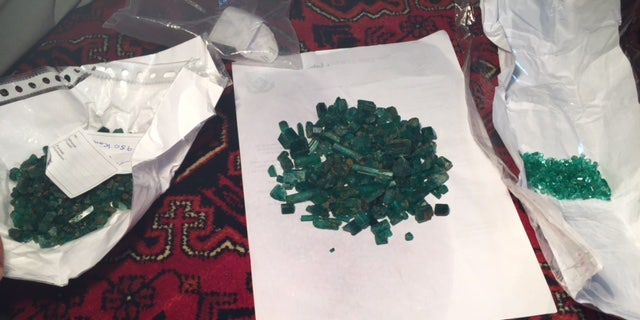 Emeralds from the Panjshir Valley