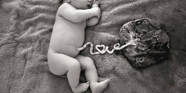 Baby Harper Hoani Spies, born January 2, 2016. Image courtesy of Emma Jean Photography