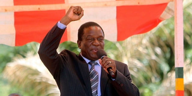 Emmerson Mnangagwa was the Vice President of Zimbabwe before he was sacked in November.