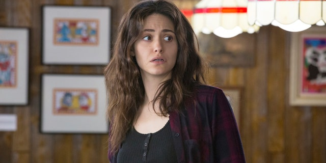 "Emmy Rossum as Fiona Gallagher in Season 8, Episode 12 of ""Shameless."""