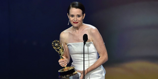Clair Foy took home the award for lead actress in a drama series.
