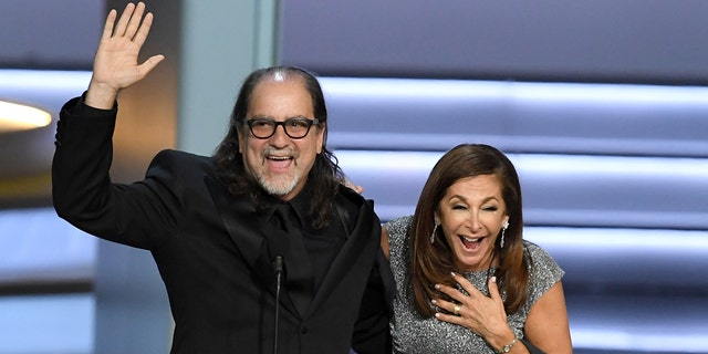 Glenn Weiss proposed to his girlfriend on the stage at the 2018 Emmys.