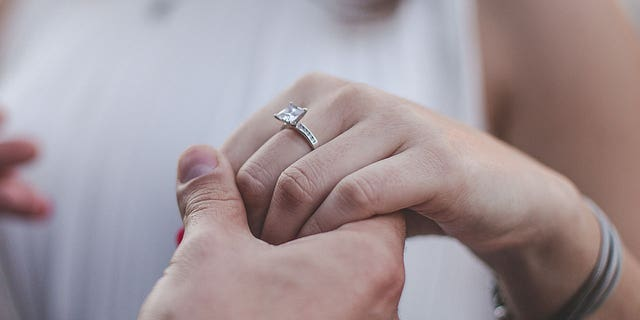 According to The Knot's 2017 Real Weddings Study, Americans on average spend $6,351 on an engagement ring.