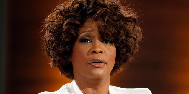 Whitney Houston on a German TV show in 2009