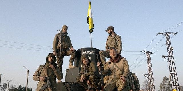 The Americans fought ISIS alongside Kurdish Peshmerga forces.
