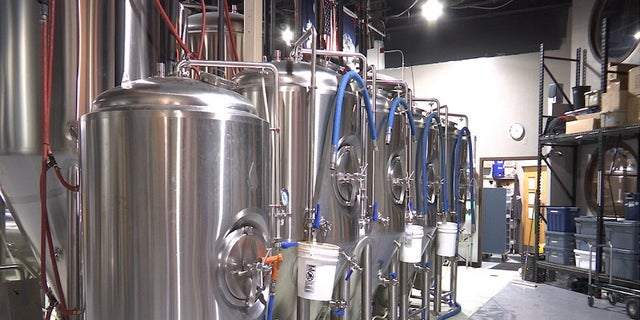 """We've been buying new steel tanks, (and) we are planning to add 2 or 3 more,"" Frothy Beard Brewing Co. head brewer Joey Siconolfi told Fox News."