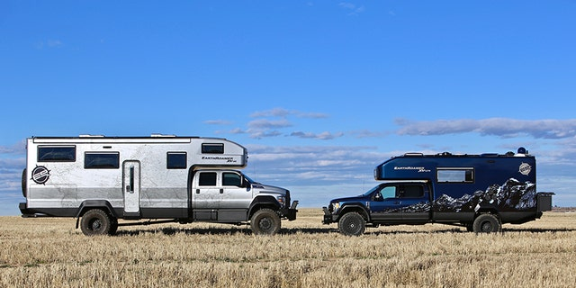 The XV-HD is slightly larger than EarthRoamer's other model, the F-Series Super Duty-based XV-LTS.