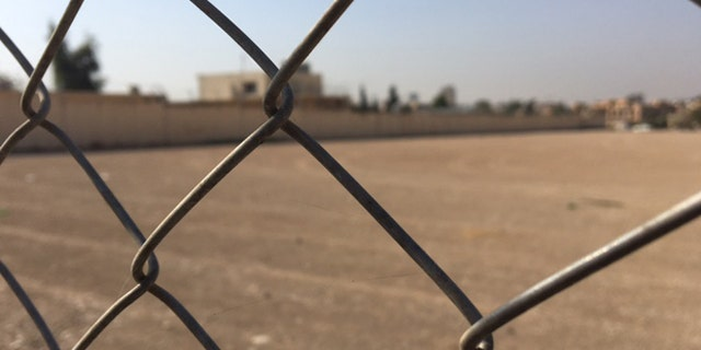 The exterior of the Women and Children's Prison of Erbil. (Photo: Hollie McKay/FoxNews.com)