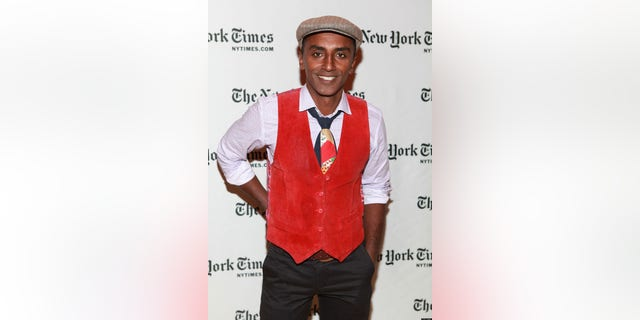 NEW YORK, NY - OCTOBER 13:  Chef Marcus Samuelsson attends TimesTalks: A Conversation With Marcus Samuelsson And Paula Deen at The Times Center on October 13, 2012 in New York City.  (Photo by Robin Marchant/Getty Images)