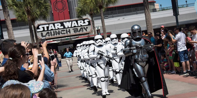"""The Force is strong at Disney's newly launched """"Star Wars: Launch Bay"""" attraction."""