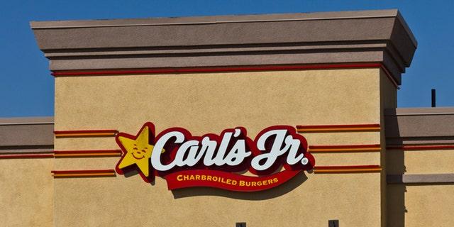 Las Vegas, US - July 26, 2016: Carl's Jr. Retail Location. Hardee's and Carl's Jr. are Subsidiaries of CKE Restaurants III