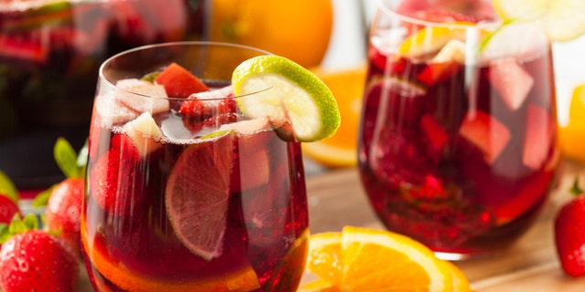 Make a sangria to cover the taste of slightly undrinkable wine.