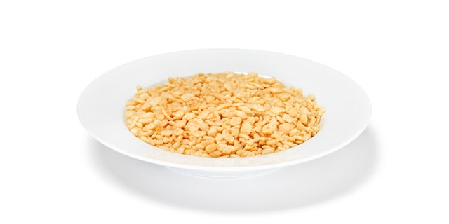 Crispy Rice Breakfast Cereal -Photographed on Hasselblad H1-22mb Camera