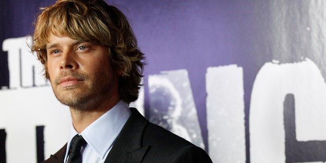 "Cast member Eric Christian Olsen poses at the world premiere of ""The Thing"" at Universal Studios Hollywood in Universal City, California October 10, 2011."