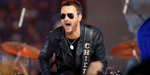 """Eric Church wrote a song called """"Why Not Me"""" right after the Las Vegas shooting."""