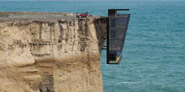 A vacation home that's truly on the cutting edge.