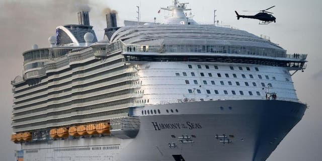 The Harmony of the Seas is the world's largest passenger cruise ship.