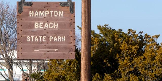Hampton New Hampshire Coastal Beach City, East Coast USA