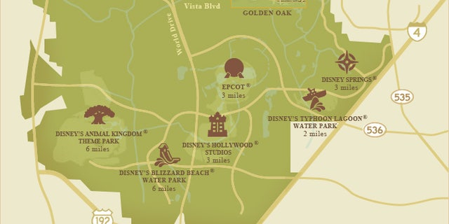 The new neighborhoods are just a few miles from Disney World's major parks.