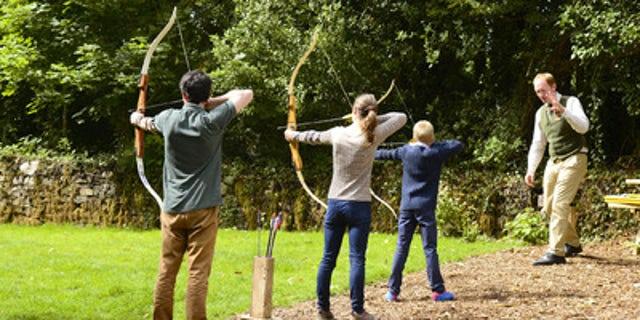 Take an archery lesson.
