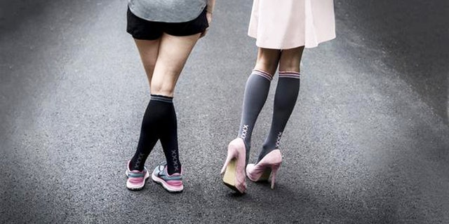 Cute compression socks really do exist.