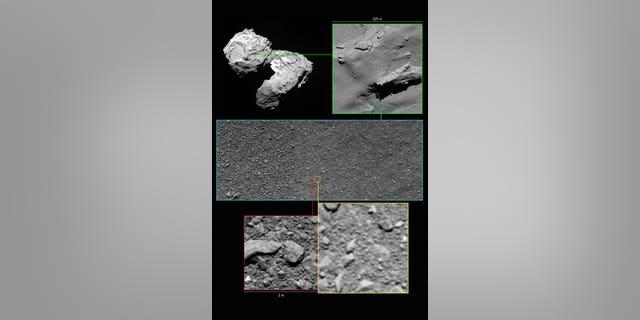 Rosetta's last images in context