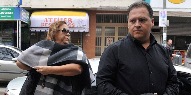 Victoria Henao and Juan Pablo Escobar Henao are accused of being intermediaries in Argentina for Colombian drug dealer Jose Piedrahita.