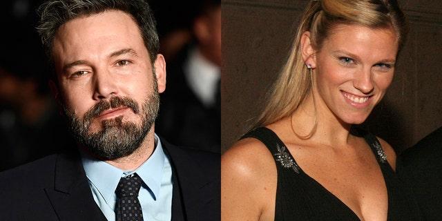 """Ben Affleck (left) is reportedly dating """"SNL"""" producer Lindsay Shookus (right)."""