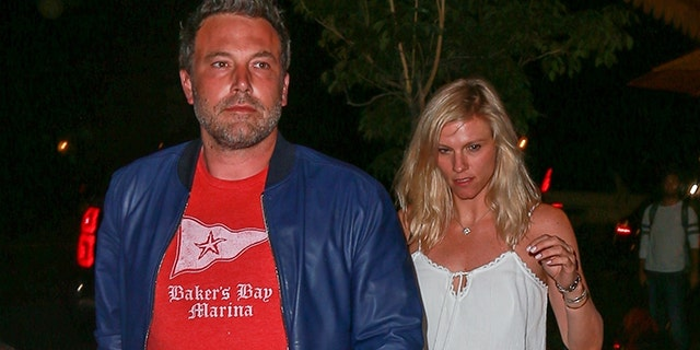 Affleck and Shookus snapped on a date night in Los Angeles.