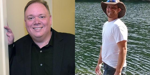 Webster, bên trái, bị cáo buộc bởi cựu thực tập sinh Cody Andersen, bên phải, đề nghị anh ta quan hệ tình dục.