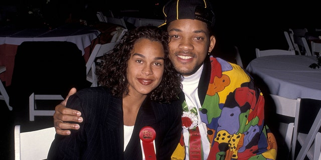 Will Smith and his first wife Sheree Zampino in 1991.