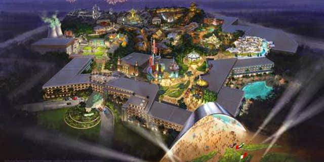 Fox World Dubai will feature attractions based on 20th Century Fox movies and TV shows.
