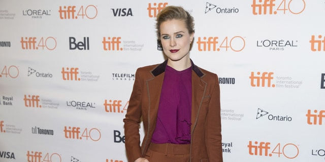 The actress at the 2015 Toronto Film Festival.