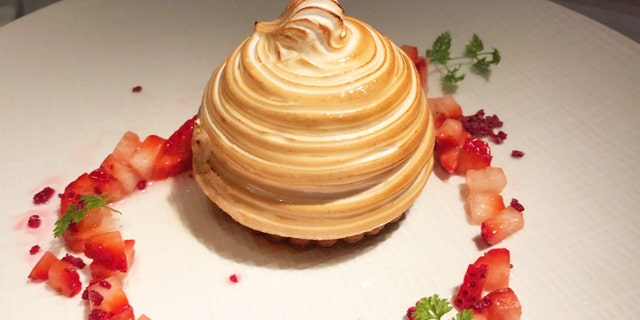 Is this the world's fanciest Baked Alaska?
