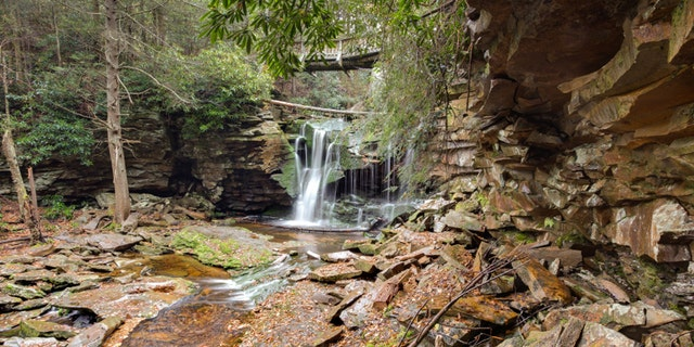 Elakala Falls - Canaan Valley, West Virginia, Balckwater waterfalls cascade