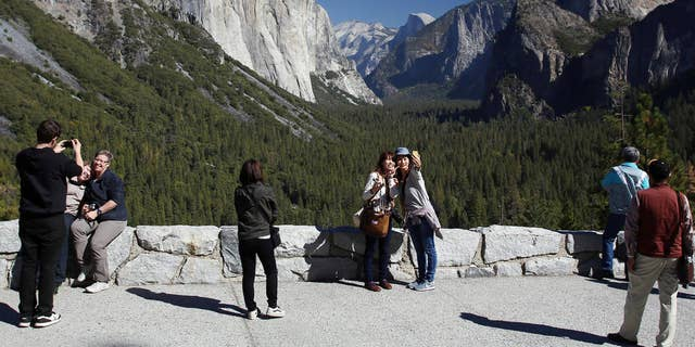 Yosemite National Park saw over 4 million visitors in 2014. Almost 10 percent came from outside U.S.
