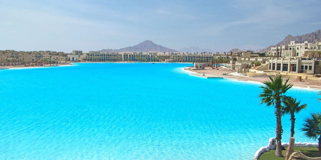 The Crystal Lagoon in Sharm El Sheikh, Egypt is the Guinness World Record holder for the largest lagoon in the world.