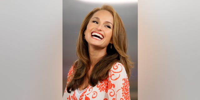 """FILE - Celebrity chef Giada De Laurentiis appears on the NBC """"Today"""" television program in New York in this  Wednesday, Aug. 19, 2009 file photo. De Laurentiis has signed with Grosset & Dunlap, an imprint of Penguin Group (USA), for a children's book series called Recipe for Adventure the publisher announced Thursday March 21, 2013. (AP Photo/Richard Drew, File)"""