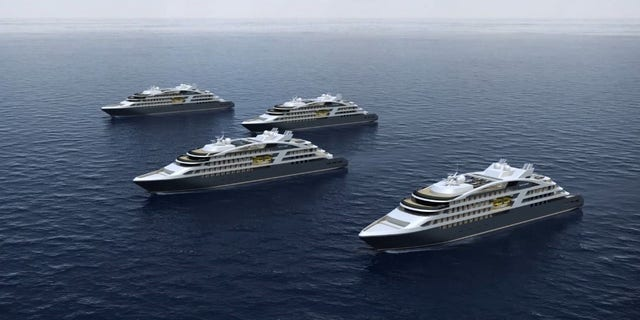 Two of the new ships are set to be delivered in 2018.