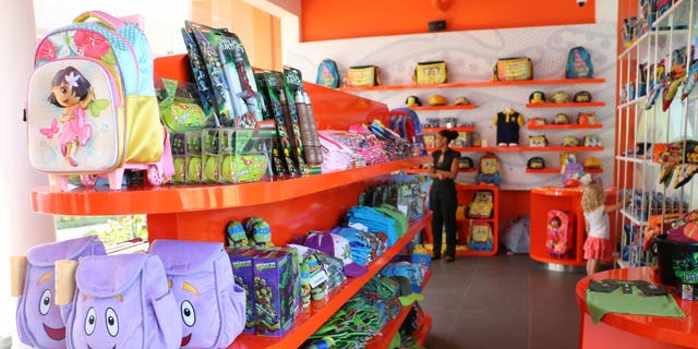 Gift shop items will cost you a pretty penny-- but if you love Nick characters, you'll find all your favorites here.