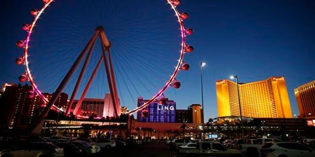 The world's tallest observation wheel: Las Vegas' High Roller.