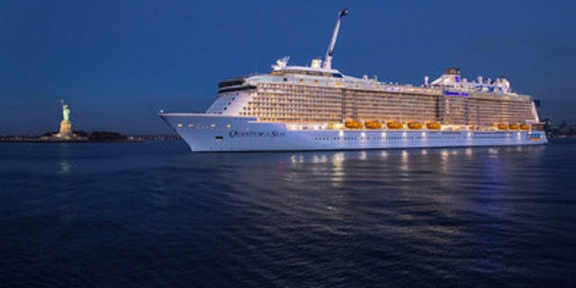 The ship has more than 2,000 staterooms, but Royal Caribbean has said it would reduce guest capacity to no more than 50% occupancy.