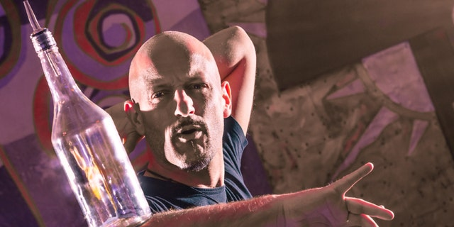 Unless you're at a flair competition in Las Vegas, don't expect your bartender to balance bottles.