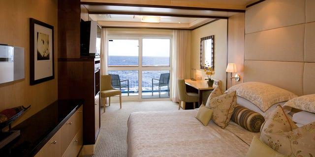 A peek inside a bedroom.