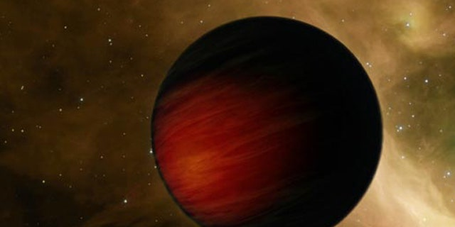 An artist's conception of an exoplanet. Three of the newly discovered exoplanets orbit the star 61 Virginis, which is virtually a twin of the sun and lies 28 light-years away in the constellation of Virgo.