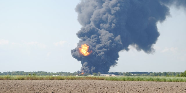 State police say nobody was hurt when explosions rocked a Multi-Chem Corp. chemical plant in a New Iberia industrial park Tuesday afternoon.