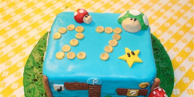 Justin Clark, an amateur baker, typically uses a layer of fondant to cover a simple round cake, and gets creative from there.