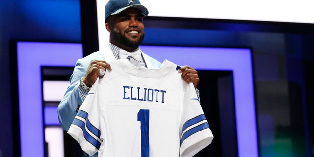 Ezekiel Elliott, who rushed for more than 1,600 yards as a rookie in 2016, was accused of domestic violence by a former girlfriend. In the run-up to the 2017 season, Jones repeatedly said that he did not believe Elliott deserved to be suspended.