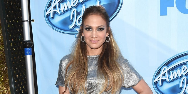 """Jennifer Lopez attends the """"American Idol"""" Red Carpet Event at CBS Television City on Dec. 9, 2014 in Los Angeles, Calif."""